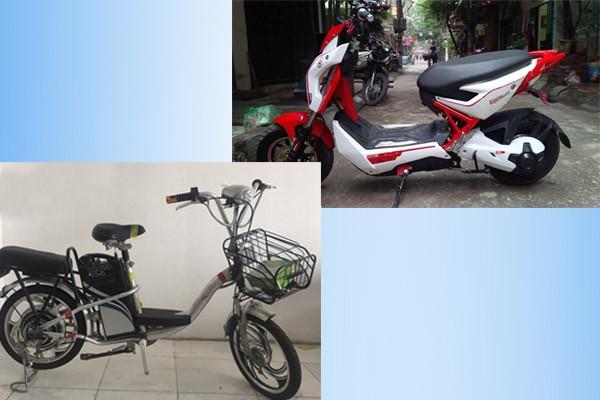 Phân biệt xe đạp điện cũ và xe máy điện